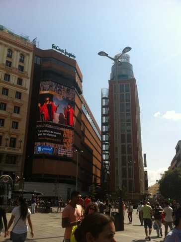 Madrid, utcakép