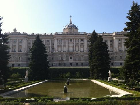 Madrid, királyi palota