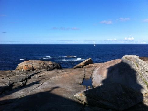 Muxia, óceán, sziklák
