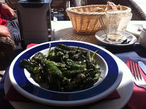 Pimientos de Padrón, a kedvenc sült paprikám :-)