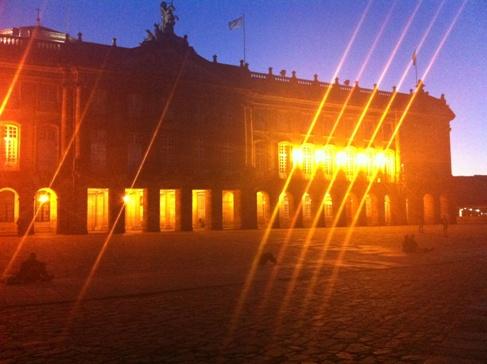 A városháza, Santiago de Compostela