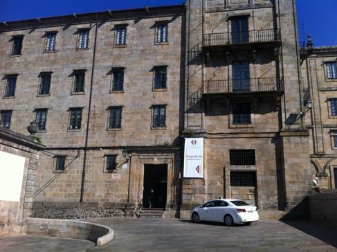 Seminario Mayor, Santiago de Compostela, főbejárat