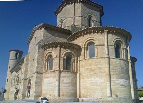 Fromista Iglesia de San Martin back side.jpg