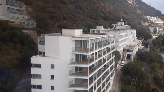 Andalúz körút, Gibraltár, Cable Car, felvonó a sziklához