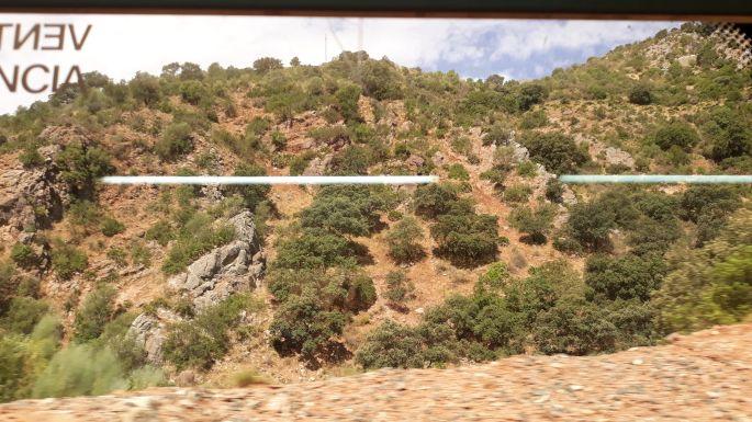 Andalúz körút, vonat
