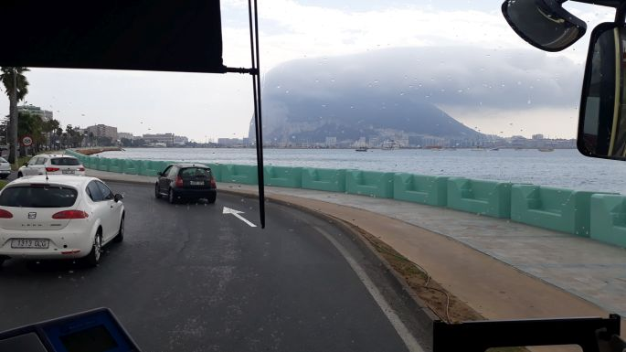Andalúz körút, La Línea de la Concepción