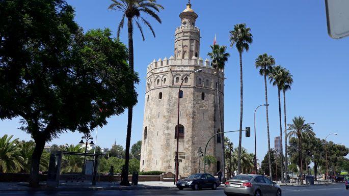Andalúz körutazás, Sevilla, az Aranytorony, vagyis a Torre del Oro