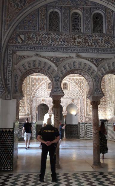 Andalúz körutazás, Sevilla, Real Alcázar