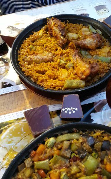 Andalúz körutazás, Sevilla, paella