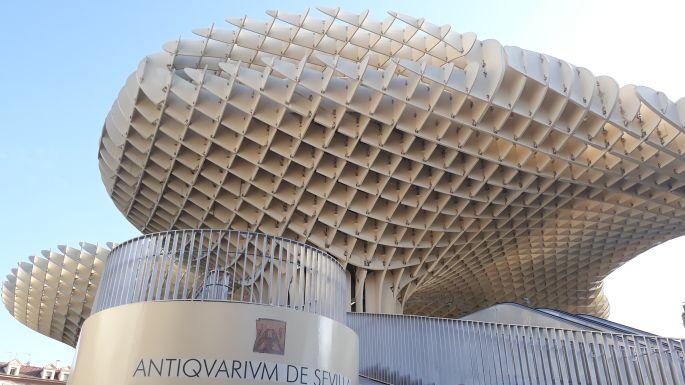 Andalúz körutazás, Sevilla, Metropol Parasol kilátó