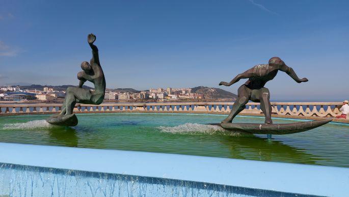 A Coruña - fél napba sűrítve