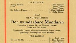 Botrányok és titokzatos influenzajárvány sújtotta Bartók kedvenc művét