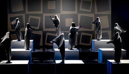 Eltáncolt geometria, avagy hogyan került az op-art pápája a balettbe