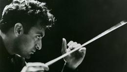 Békenagykövet karmesteri pálcával – Zubin Mehta