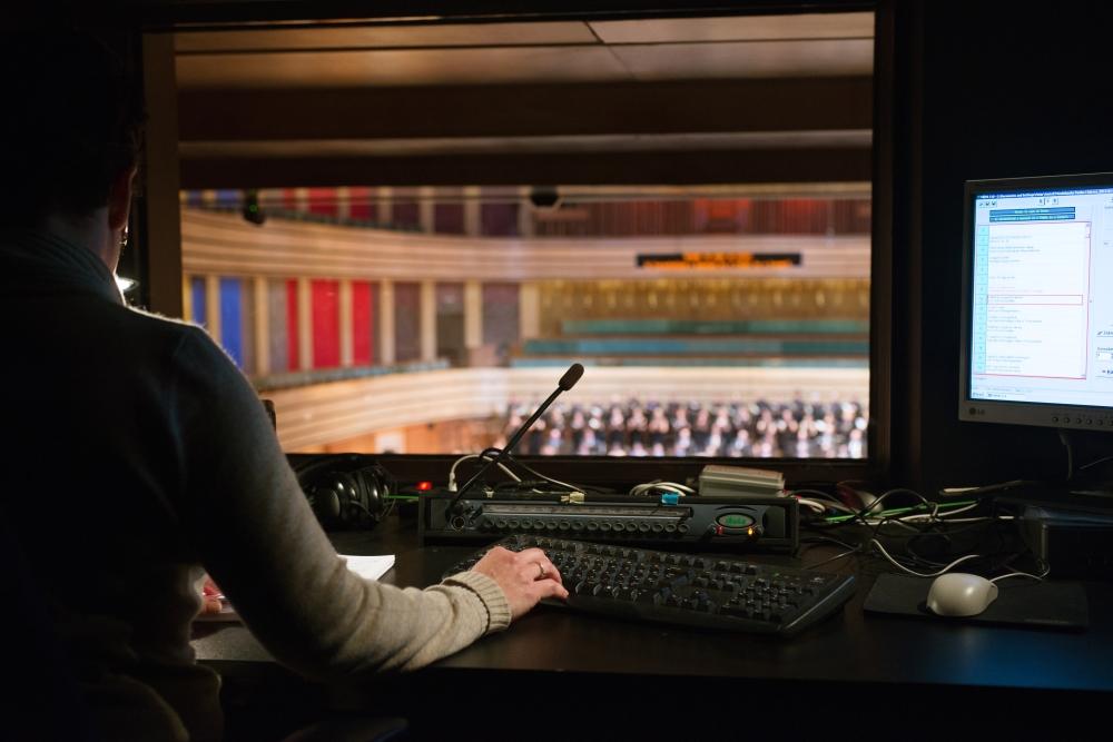 Más perspektíva – kollégáink egy része innen látja a Bartók Béla Nemzeti Hangversenytermet
