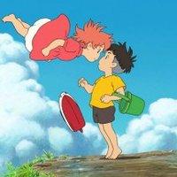Ponyo a tengerparti sziklán (Gake no ue no Ponyo)