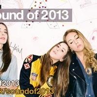 Megvan(nak) a Sound Of 2013 lista győztese(i)