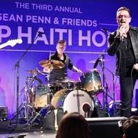 U2-meglepetéskoncert Sean Penn jótékonysági estjén