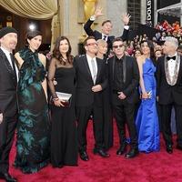 A U2, Pharrell, Karen O és Ezra Koenig (meg P!nk) fellépése az Oscar-gálán