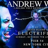 Andrew W.K. egymillió voltos szintetizátorszólóval sokkolta David Blaine-t