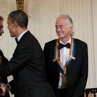 Barack Obama kitüntette a Led Zeppelin tagjait ésBuddyGuy-t is