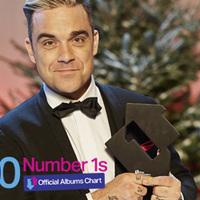 Robbie Williams új szvinglemeze az 1000. listavezető album Nagy-Britanniában