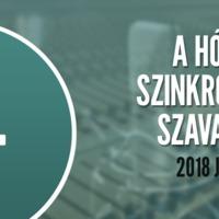 A hónap szinkronja szavazás: 2018. január