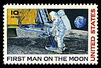 First man on the Moon — 1969.07.20.