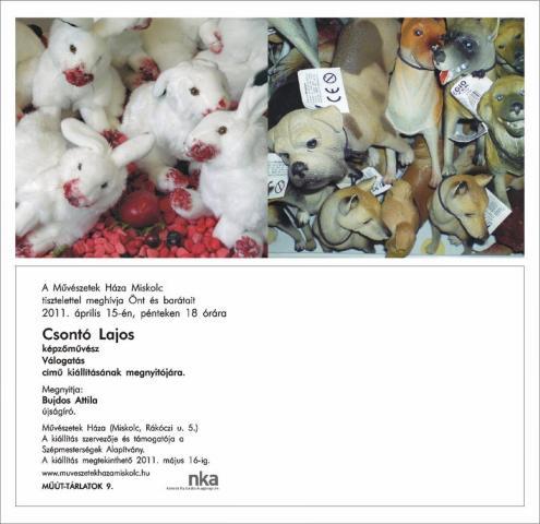Műút-tárlatok 9: Csontó Lajos