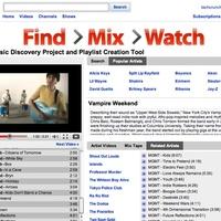 Zenei videóplaylistek a Youtube-on