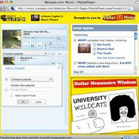 Dübörög a MySpace music!