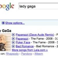 Exkluzív tartalmak a Google zenekeresőjében