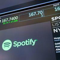 Közel 30 milliárd dollárra értékelte a piac a Spotify-t