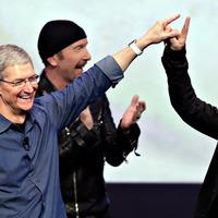Minden negyedik iOS eszközön  hallgattak U2-t januárban!