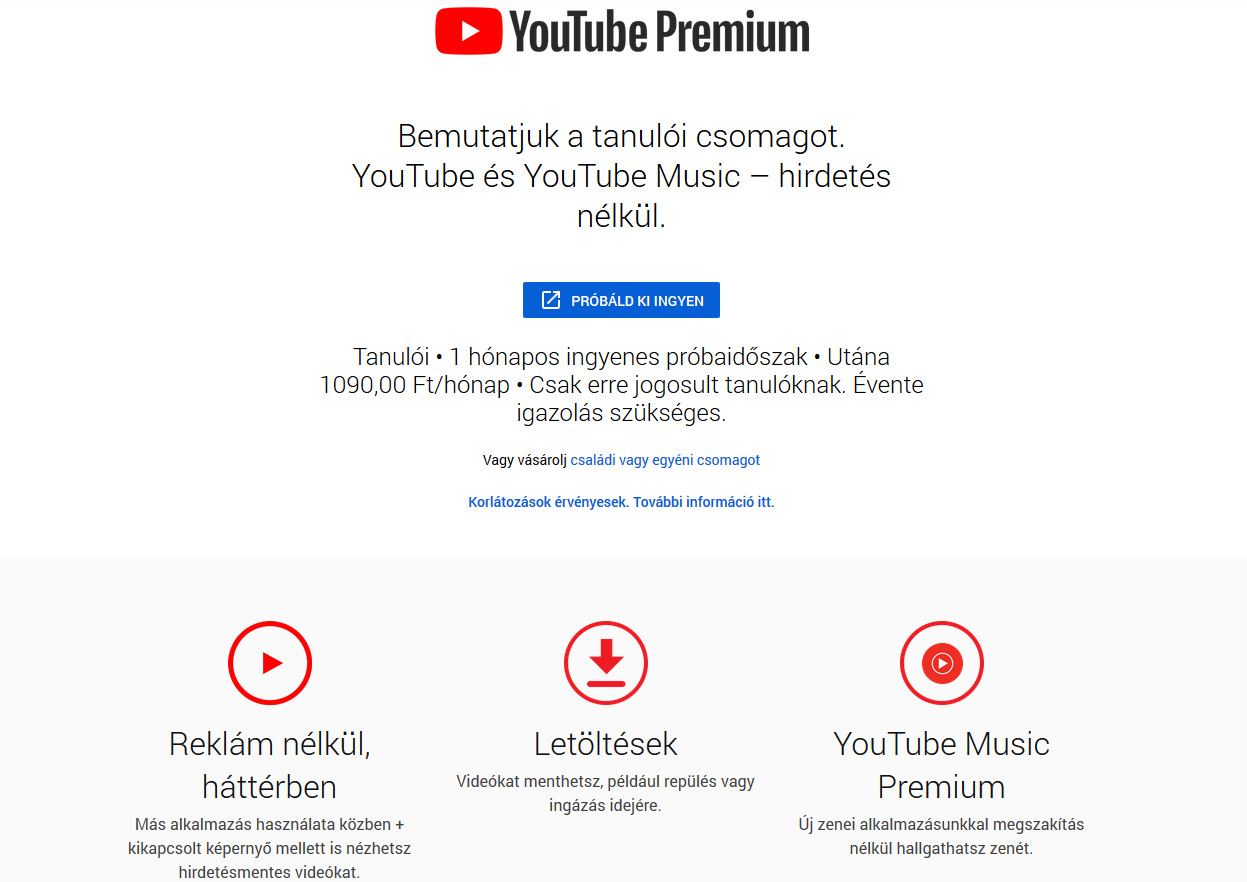 videó ajánlatok másolása