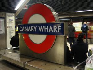 Hazafelé Greenwichből, vásárlás, Canary Wharf