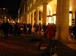 Esti séta, zenészek a Covent Gardennél, Millenium Bridge, St. Paul's Cathedral