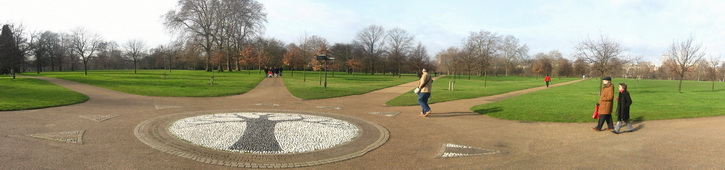 Újra a Hyde Parkban, I love Baked Beans :)