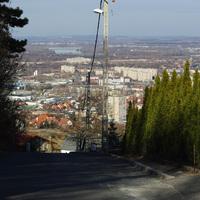 Budapest panoráma II.: III. kerület, Nyereg út (308 m)