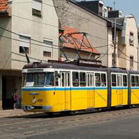 Nosztalgia villamosozás, 2012.08.05. (Első rész: Újpest)