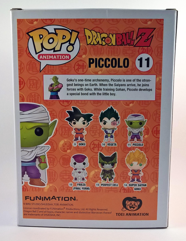 A maradék öt figura és egy rövid leírás Piccolóról