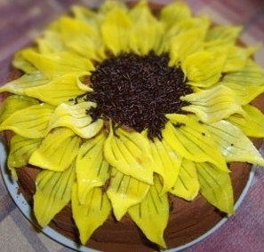 napraforgó torta képek Napraforgó torta   Nono konyhája:  ) napraforgó torta képek