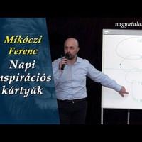Mikóczi Ferenc: Napi inspirációs kártyák