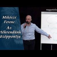 Mikóczi Ferenc: Az értékrendünk középpontja