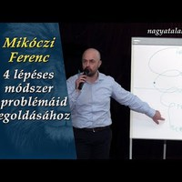 Mikóczi Ferenc: 4 lépéses módszer a problémáid megoldására