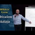 Mikóczi Ferenc: A bizalom skálája