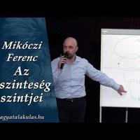 Mikóczi Ferenc: Az őszinteség szintjei