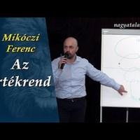 Mikóczi Ferenc: Az értékrend