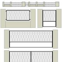 Kerítés project
