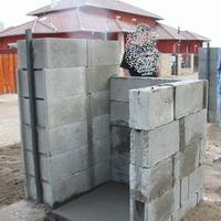 Kerítés és kukatároló projekt